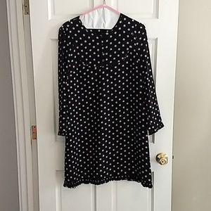 J. Crew Dresses - JCrew star print silk dress